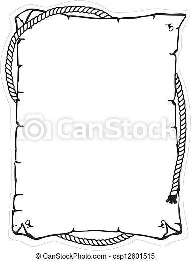 Cuerda, cerebro, cuerda, marco - csp12601515
