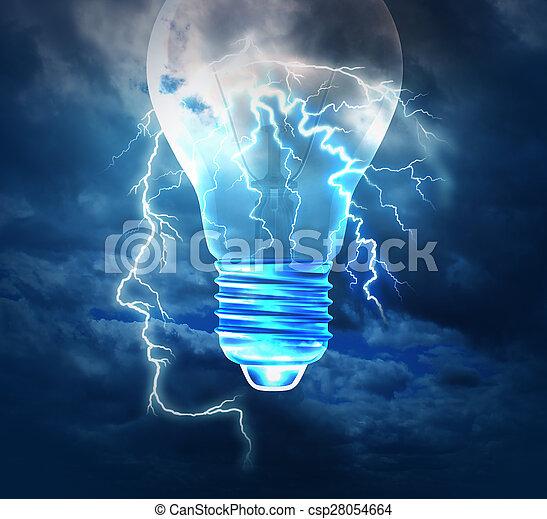 Brainstorm Concept - csp28054664