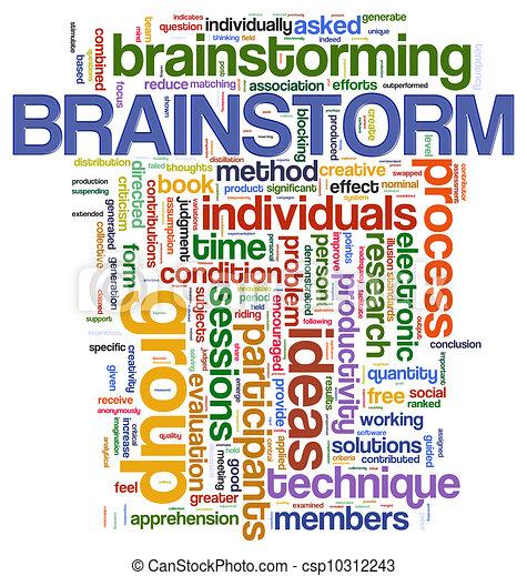 Brainstorm  word tags - csp10312243