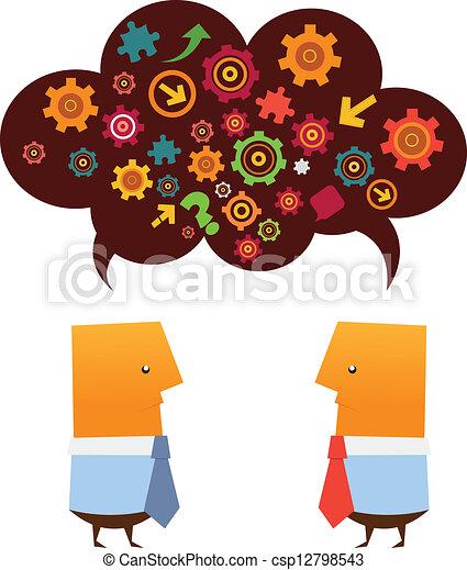 Brainstorming - csp12798543