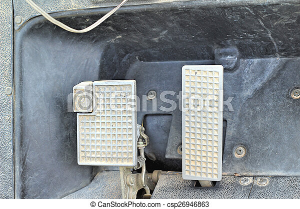 Brake and accelerator pedal for cars. - csp26946863