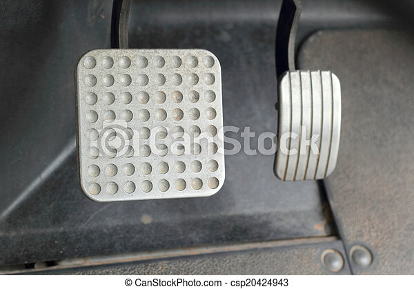 Brake and accelerator pedal for cars. - csp20424943