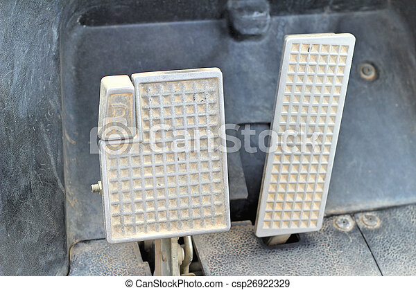 Brake and accelerator pedal for cars. - csp26922329