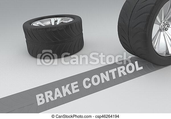 Brake Control concept - csp46264194
