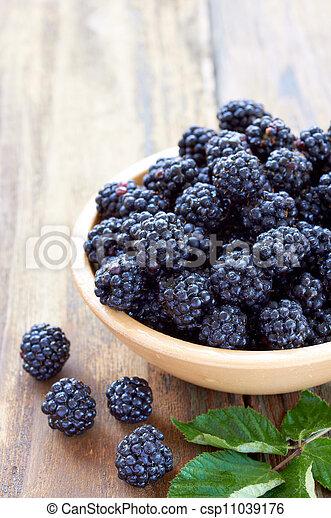bramble fruit healthy food - csp11039176