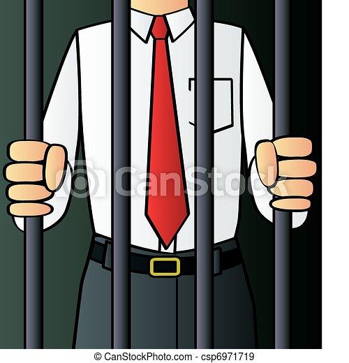 branca, criminal, colarinho - csp6971719