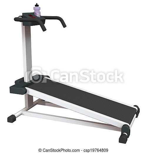 branca, treadmill - csp19764809