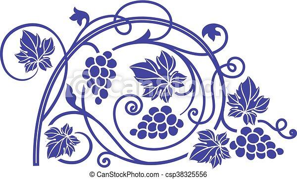 branches uva elemento tema desenho vinho ramos illustration