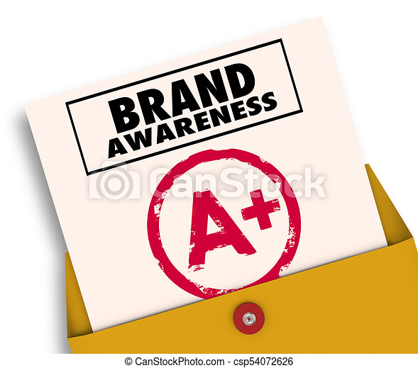 brand awareness report card a plus grade 3d illustration clip art rh canstockphoto com report card clipart free report card day clipart