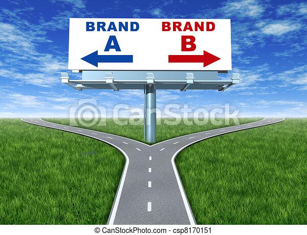 Brand loyalty - csp8170151
