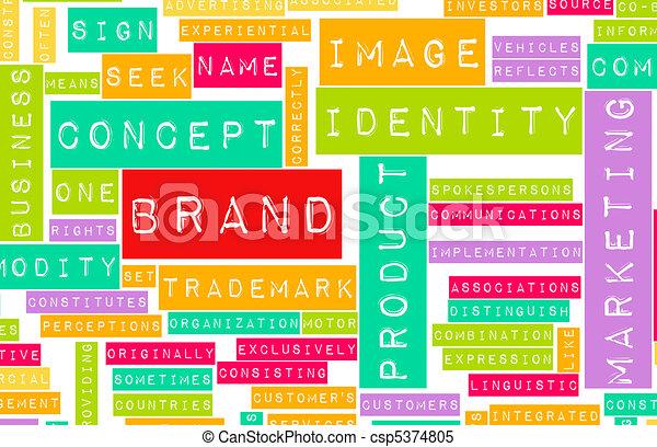 Brand Marketing - csp5374805