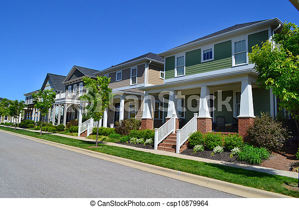 Brand new neighborhood - csp10879964