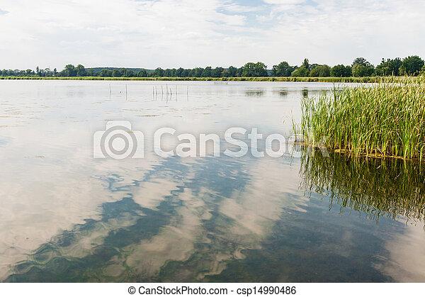 brandenburg, deutschland, see - csp14990486