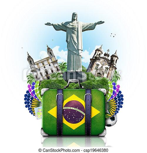 Brasil, Brasil, monumentos, viajes - csp19646380