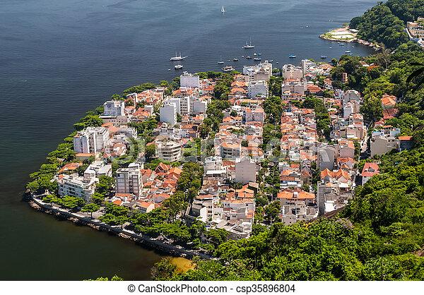 Distrito Urca en rio de janeiro brazil - csp35896804