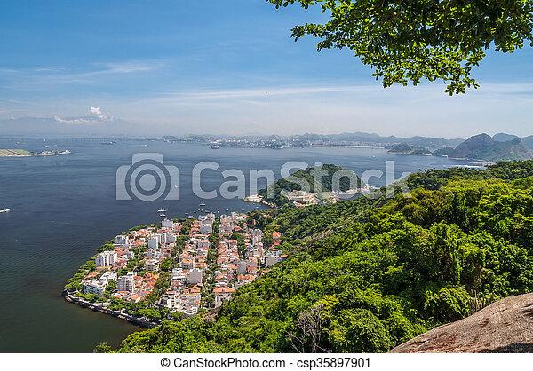 Distrito Urca en rio de janeiro brazil - csp35897901