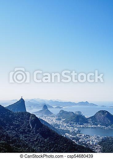 Río de Janeiro en Brasil - csp54680439