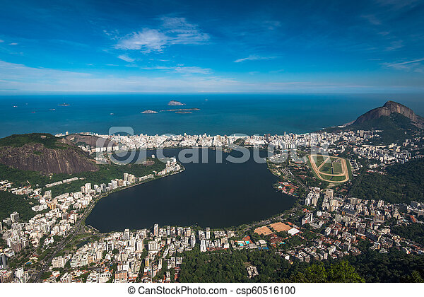 Laguna en Río de Janeiro, Brasil - csp60516100