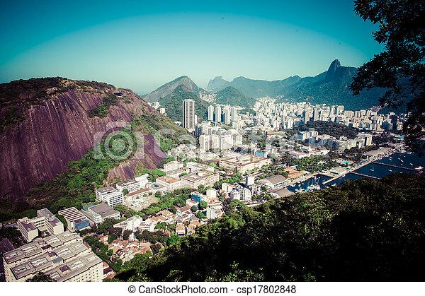 Río de Janeiro, Brasil - csp17802848