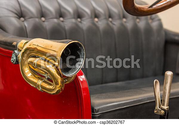 Brass Car Horn - csp36202767