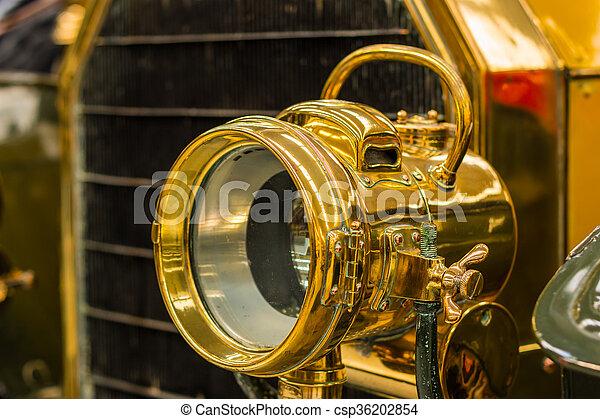 Brass Head Lamp - csp36202854