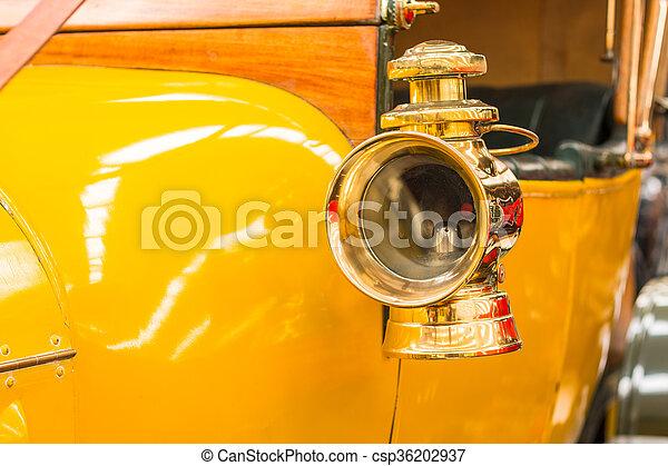 Brass Side Head Lamp - csp36202937