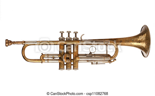 Brass Trumpet - csp11082768