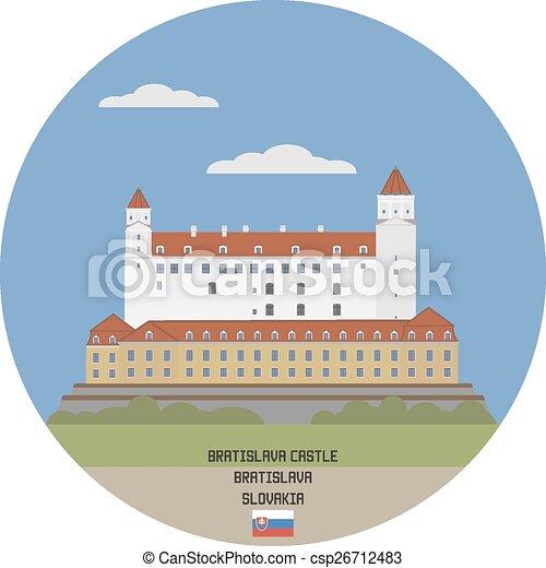 Bratislava Castle, Slovakia - csp26712483
