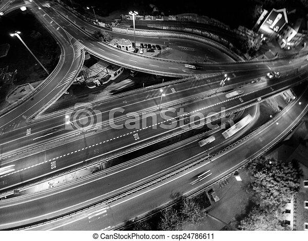 Bratislava traffic - csp24786611