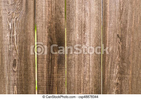 Brauner Bretter Zaun Holz Hintergrund Beschaffenheit Boards