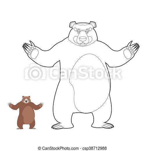Erfreut Grizzlybär Färbung Seite Fotos - Dokumentationsvorlage ...
