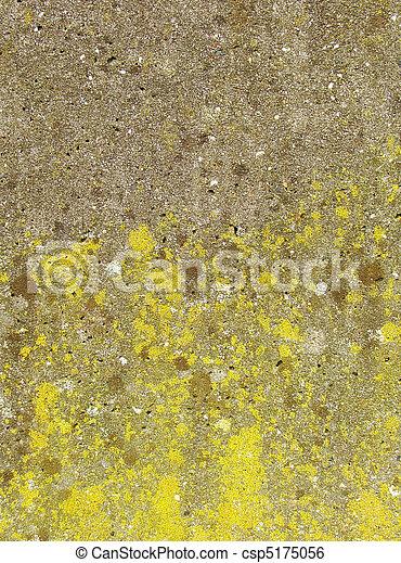 brauner graue wand gelber beton gr n sporne stockbild suche fotos und foto clipart. Black Bedroom Furniture Sets. Home Design Ideas