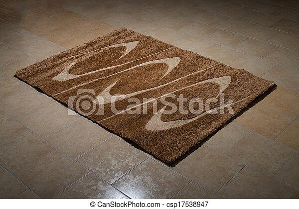Fußboden Teppich Xl ~ Brauner ledig teppich gefaltet boden. fliesenmuster bunte