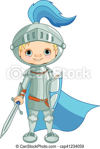 Brave Knight - csp41234059