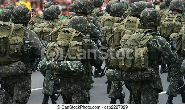 Brave soldiers - csp2227029