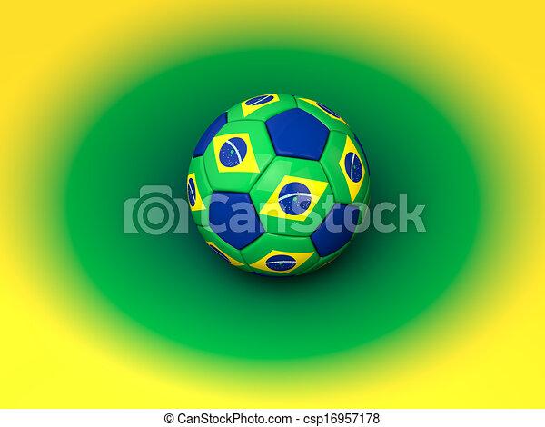 brazília, világ, labdarúgás, csésze, 2014 - csp16957178