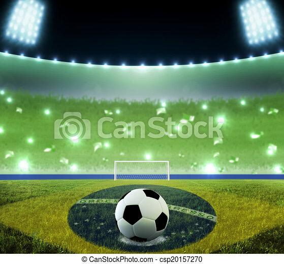 brazília, világ, stadion, csésze - csp20157270