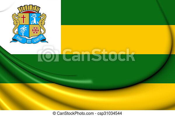 brazil., 旗, aracaju - csp31034544