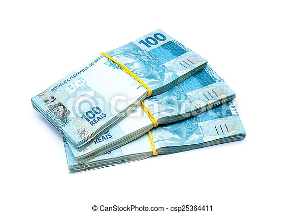 Brazil Currency - csp25364411