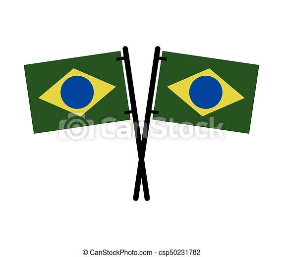 Brazil flag - csp50231782