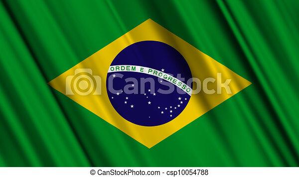 Brazil Flag - csp10054788