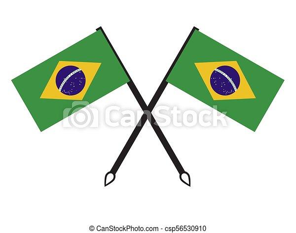 Brazil flag - csp56530910