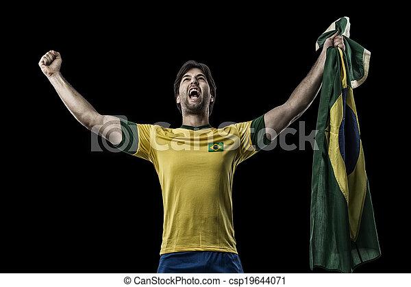 Brazilian soccer player - csp19644071