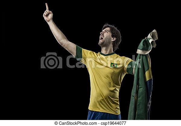Brazilian soccer player - csp19644077