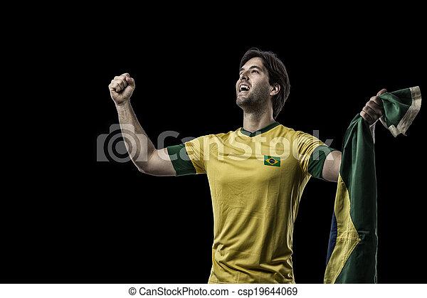 Brazilian soccer player - csp19644069