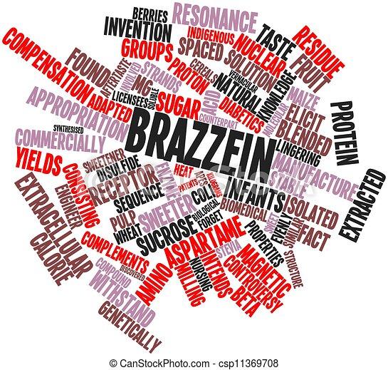 Brazzein - csp11369708