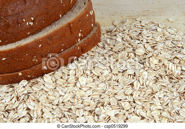 Bread and Oats - csp0519299