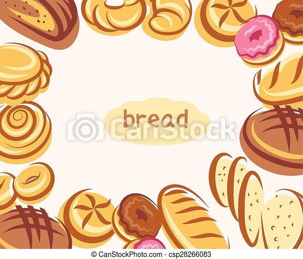 Bread background - csp28266083