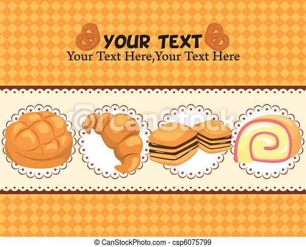 bread card  - csp6075799