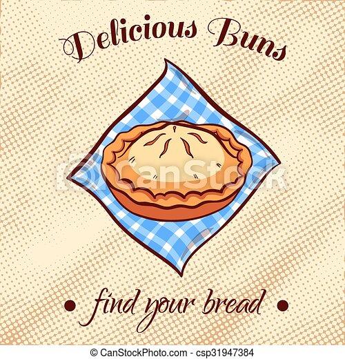 Bread On A Napkin 25 - csp31947384